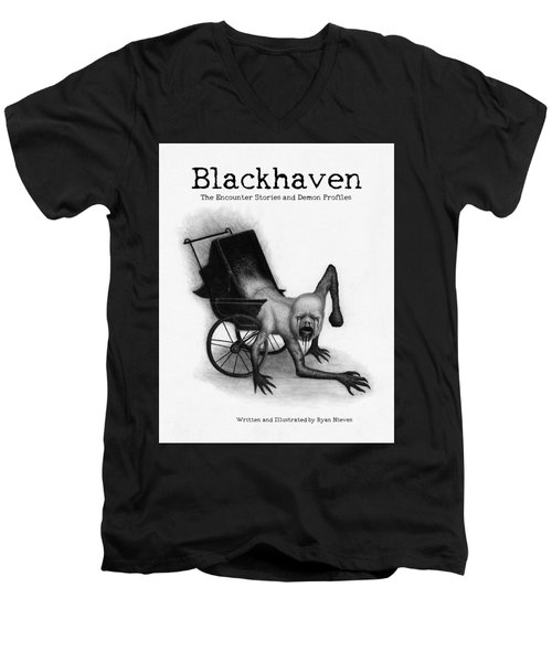 Blackhaven The Encounter Stories And Demon Profiles Bookcover, Shirts, And Other Products Men's V-Neck T-Shirt