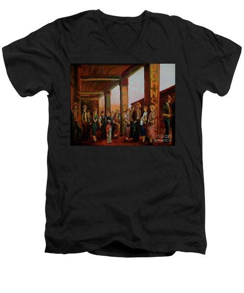 Bread Line Men's V-Neck T-Shirt