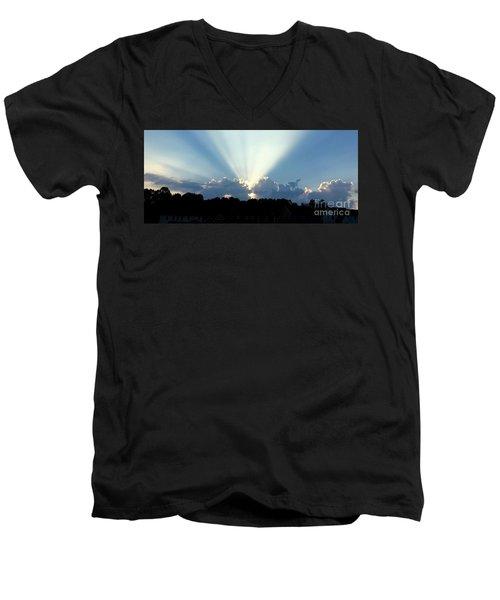 Breathtaking Sky Men's V-Neck T-Shirt