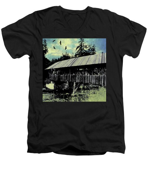 Bridge V Men's V-Neck T-Shirt
