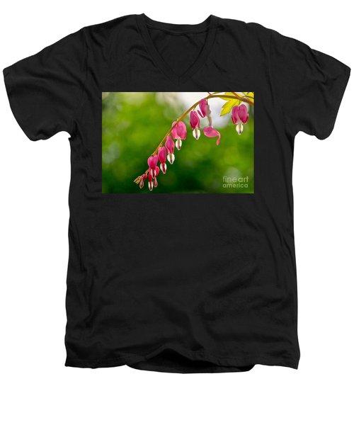 Broken Heart Men's V-Neck T-Shirt