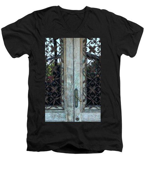 Capri Door Men's V-Neck T-Shirt