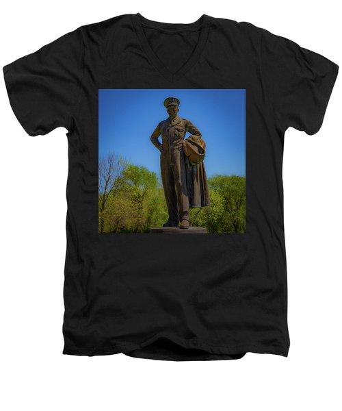 Carlyle Ike Men's V-Neck T-Shirt