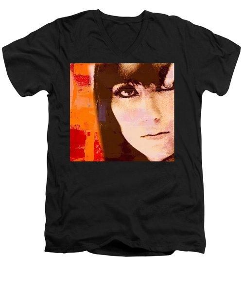 Cher Men's V-Neck T-Shirt