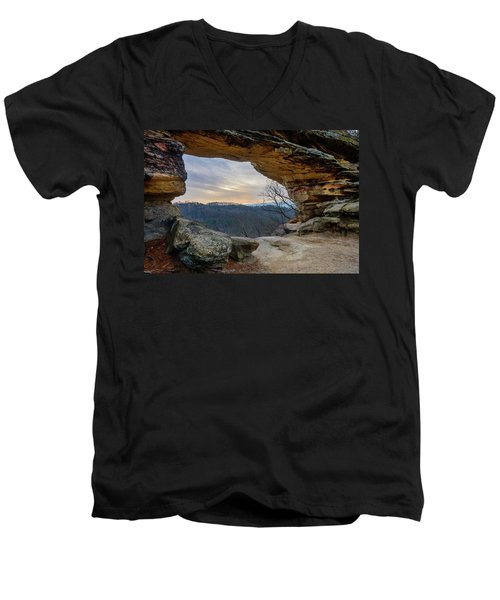 Chronicles Of The Gorge Men's V-Neck T-Shirt