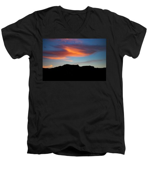 Cloud Over Mt. Boney Men's V-Neck T-Shirt