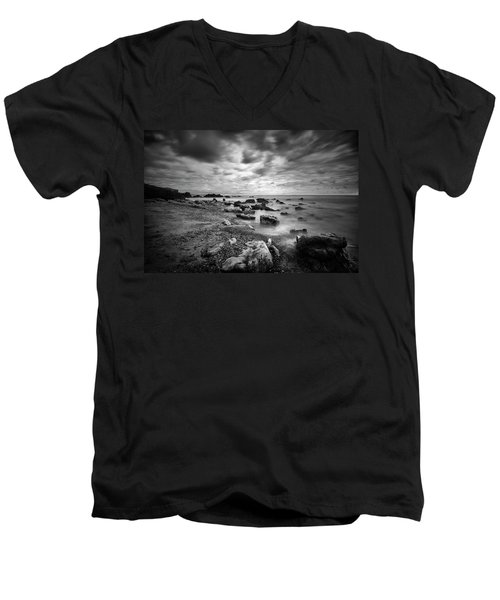 Coastal Light II Men's V-Neck T-Shirt