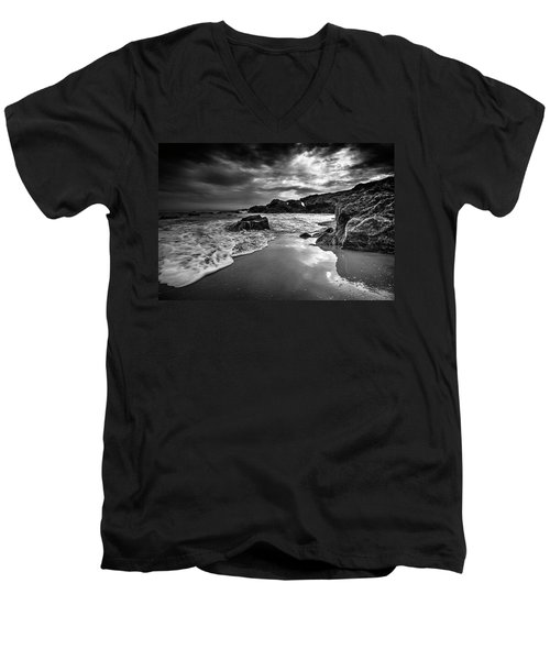 Coastal Light  Men's V-Neck T-Shirt