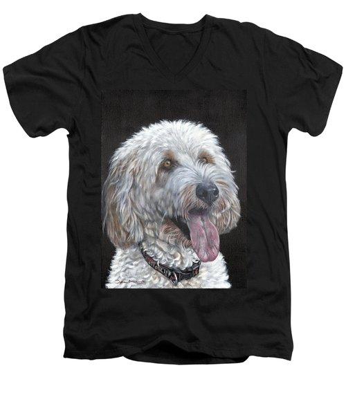Cockapoo Men's V-Neck T-Shirt