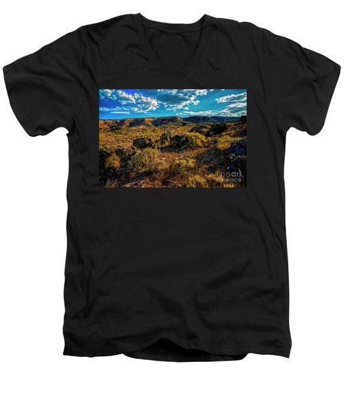 Colorado Summer Evening Men's V-Neck T-Shirt