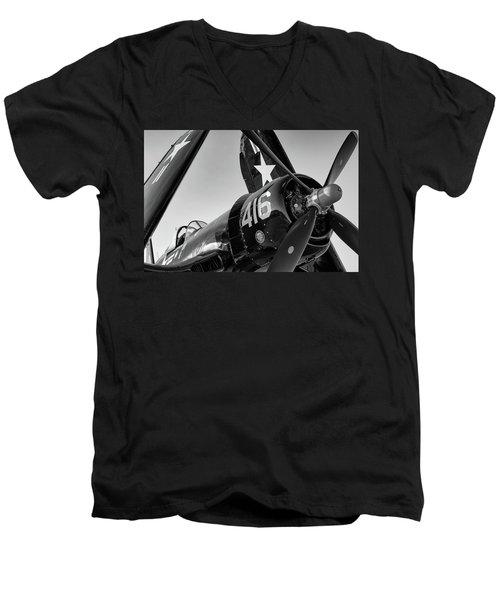 Corsair Under The Setting Sun Men's V-Neck T-Shirt