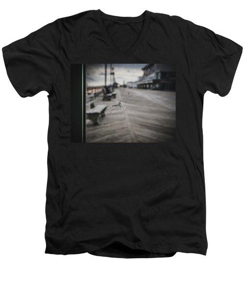 Crack Men's V-Neck T-Shirt