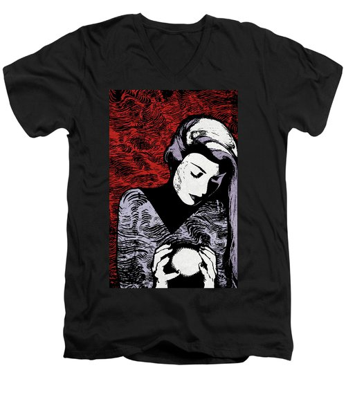 Crystal Ball Men's V-Neck T-Shirt