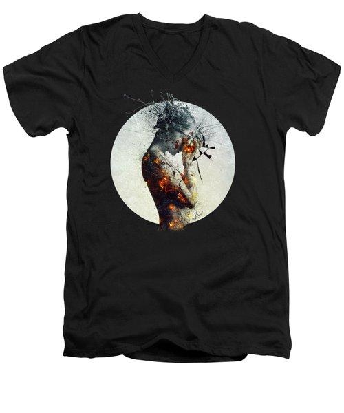 Deliberation Men's V-Neck T-Shirt