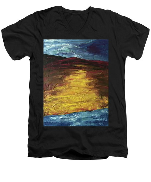 Earth In The Between Men's V-Neck T-Shirt