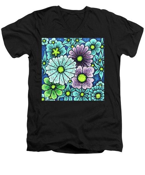 Efflorescent 2 Men's V-Neck T-Shirt