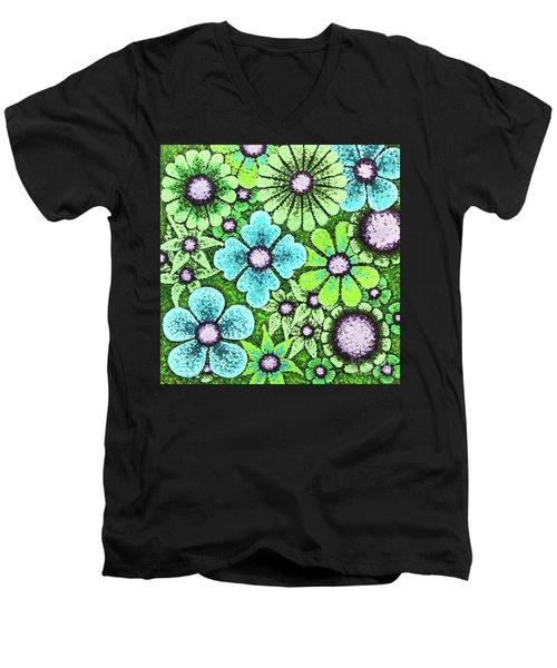 Efflorescent 9 Men's V-Neck T-Shirt
