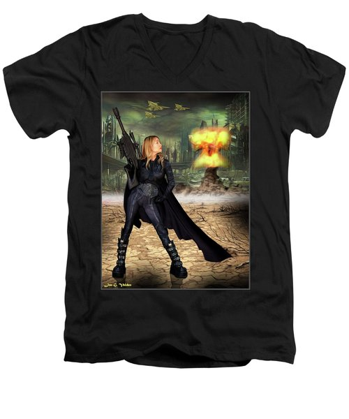 End Game Men's V-Neck T-Shirt