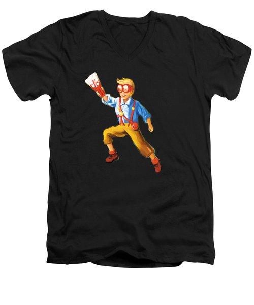 Explorer Men's V-Neck T-Shirt