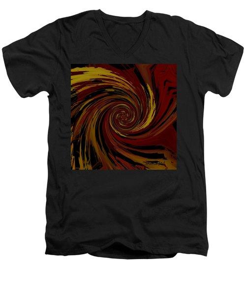 Explosion  Crossroad  Men's V-Neck T-Shirt