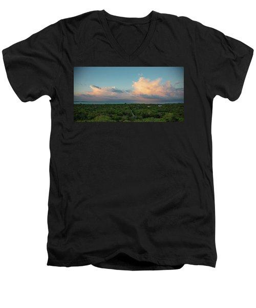 Exuma Skies Men's V-Neck T-Shirt