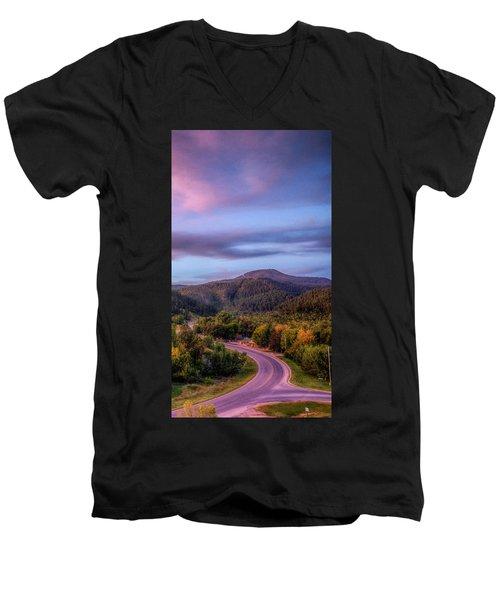 Fairytale Triptych 3 Men's V-Neck T-Shirt