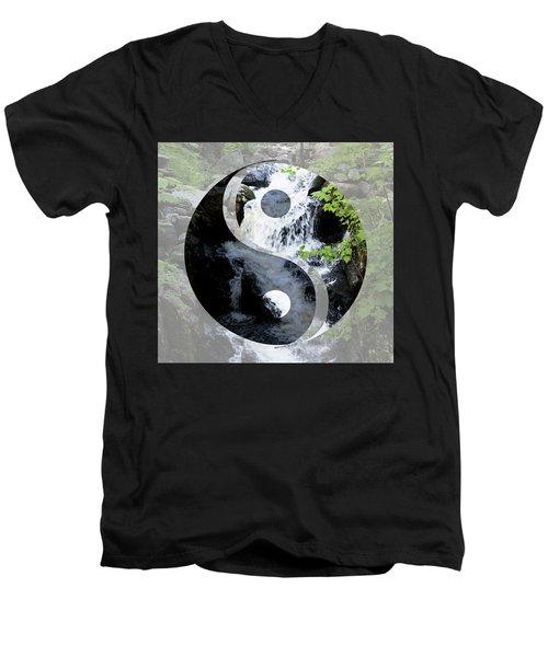 Find Your Balance Men's V-Neck T-Shirt
