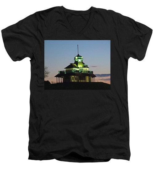 Fleetwood. The Mount Pavillion. Men's V-Neck T-Shirt