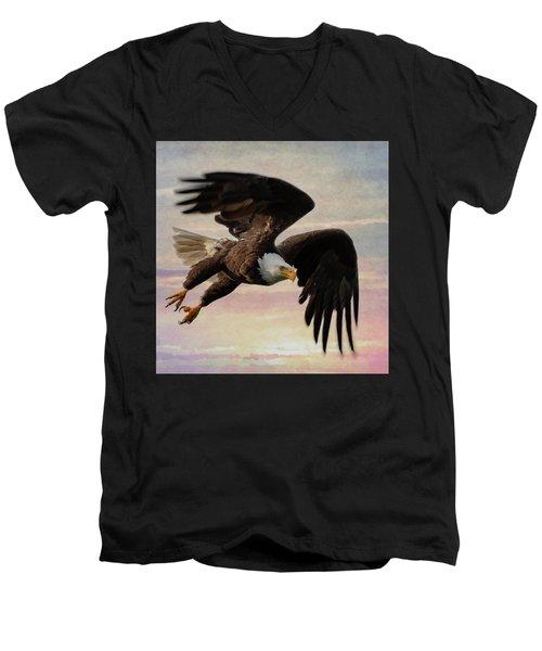Flight Men's V-Neck T-Shirt