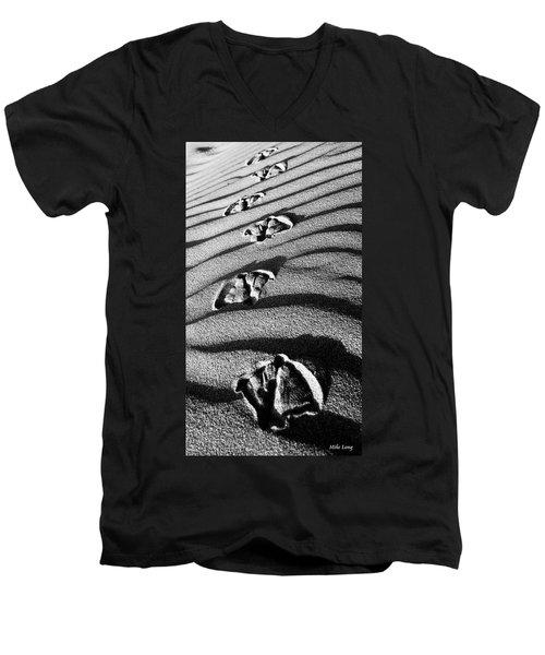 Follow Me Men's V-Neck T-Shirt