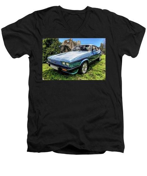 Ford Capri 3.8i Men's V-Neck T-Shirt