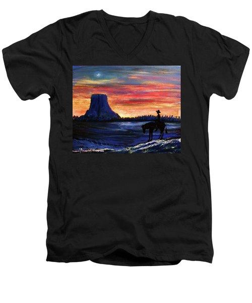 Forever West Men's V-Neck T-Shirt