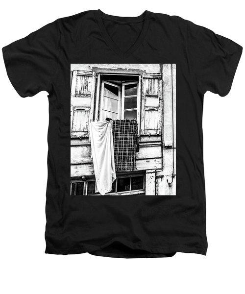 Franch Laundry Men's V-Neck T-Shirt