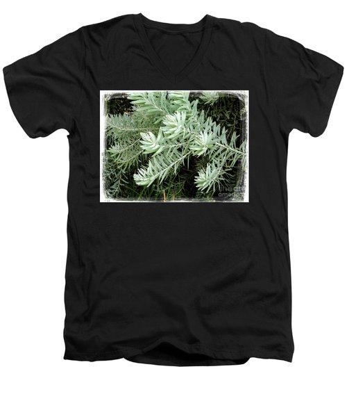 Gentle Leaves Men's V-Neck T-Shirt