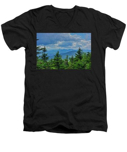 Grandmother Mountain Men's V-Neck T-Shirt