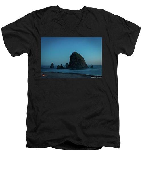 Haystack And Needles Men's V-Neck T-Shirt