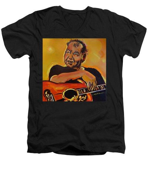 His Pumpkin's Little Daddy Men's V-Neck T-Shirt