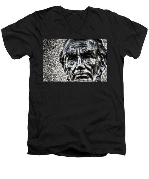 Honest Abe Men's V-Neck T-Shirt
