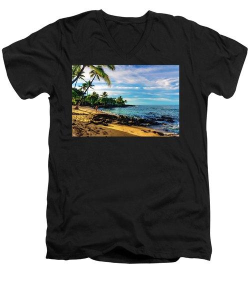 Honl Beach Men's V-Neck T-Shirt