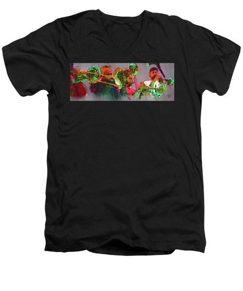Horn Section Men's V-Neck T-Shirt