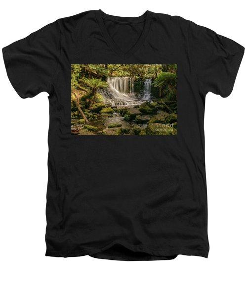 Horseshoe Falls 01 Men's V-Neck T-Shirt