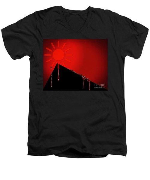 Hurt Men's V-Neck T-Shirt