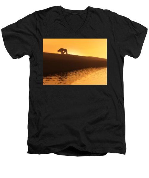 Indomitable Men's V-Neck T-Shirt