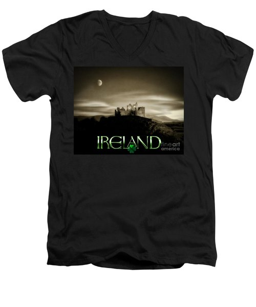 Ireland Men's V-Neck T-Shirt