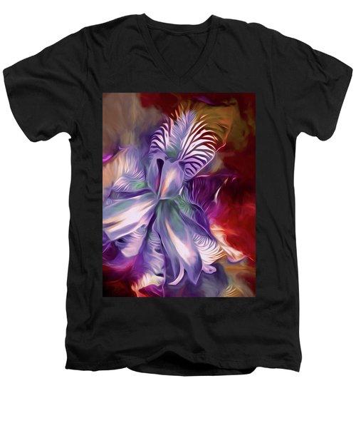 Iris Splendor 12 Men's V-Neck T-Shirt
