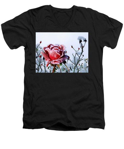 Jack Frost Men's V-Neck T-Shirt