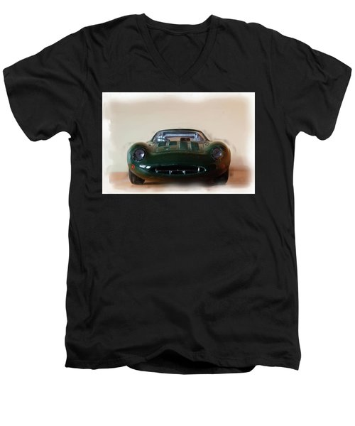 Jaguar Xj13 Men's V-Neck T-Shirt