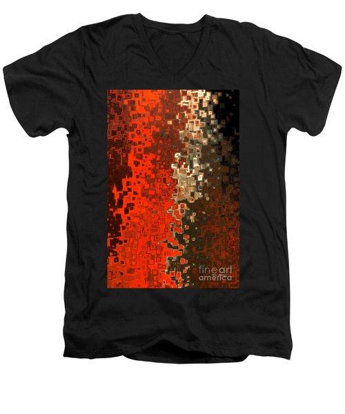James 5 16. Praying For A Change Men's V-Neck T-Shirt