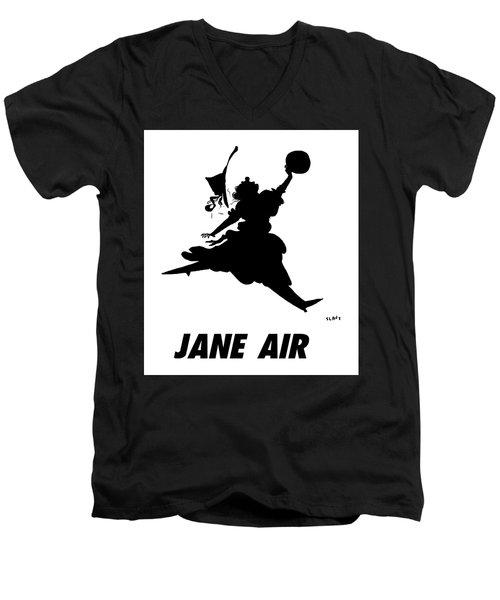 Jane Air Men's V-Neck T-Shirt