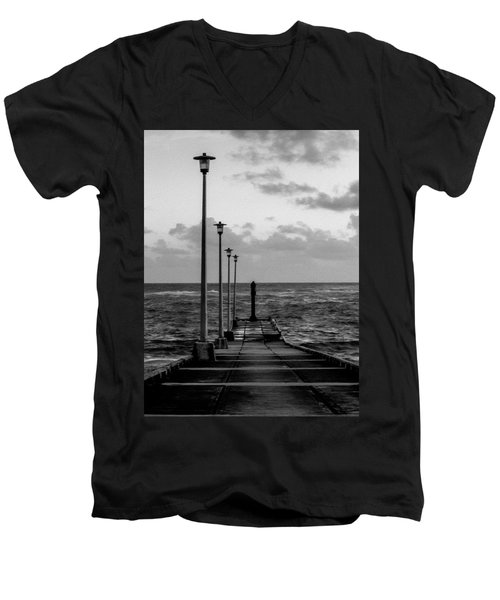 Jetty Men's V-Neck T-Shirt
